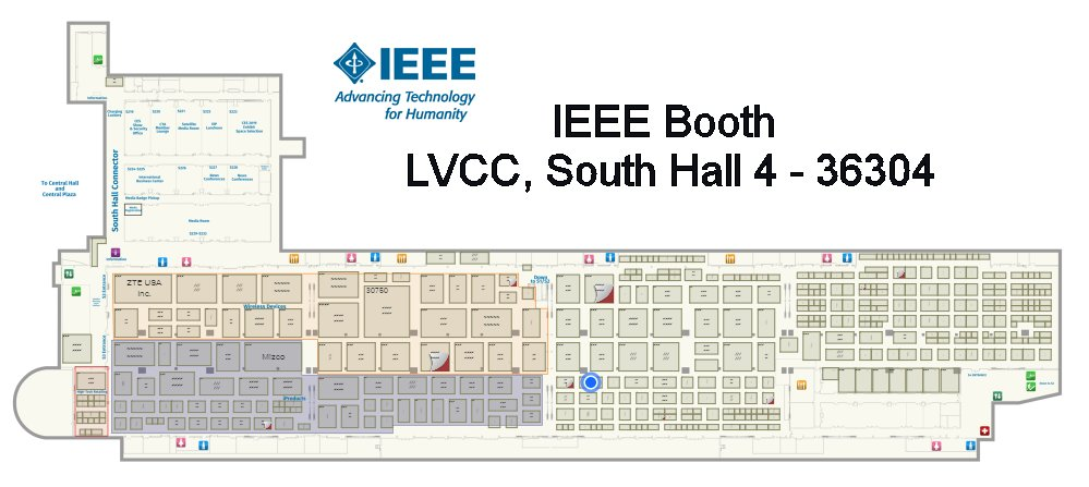 CES 2018 IEEE Booth